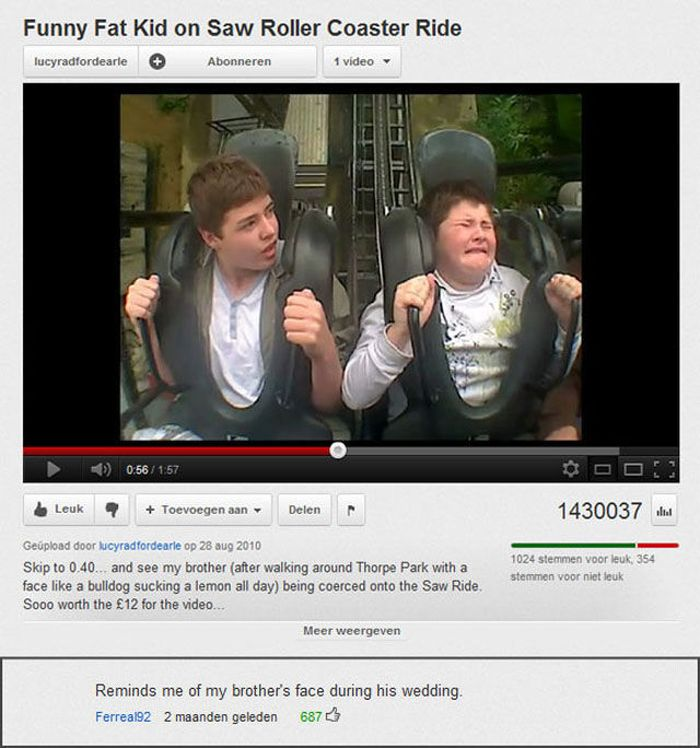 Funny Youtube Comments