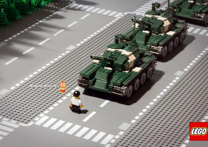 Видео как сделать лего танк видео