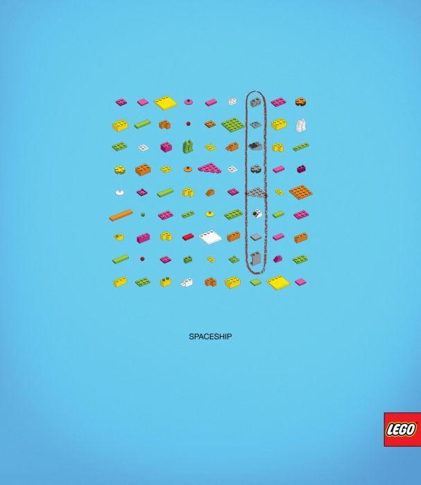 Creative Lego Advertisements