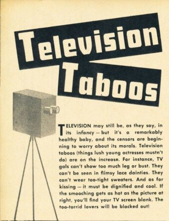 Television Taboos, 1949