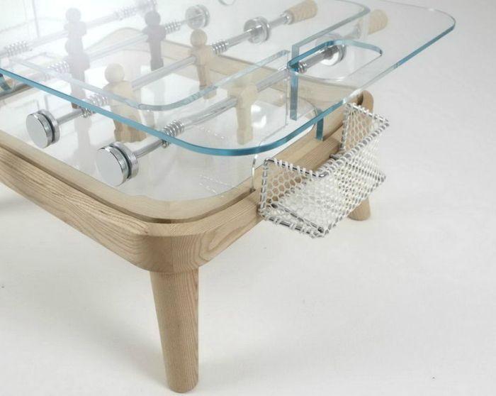 Coffeetable + Foosball Table by Teckell