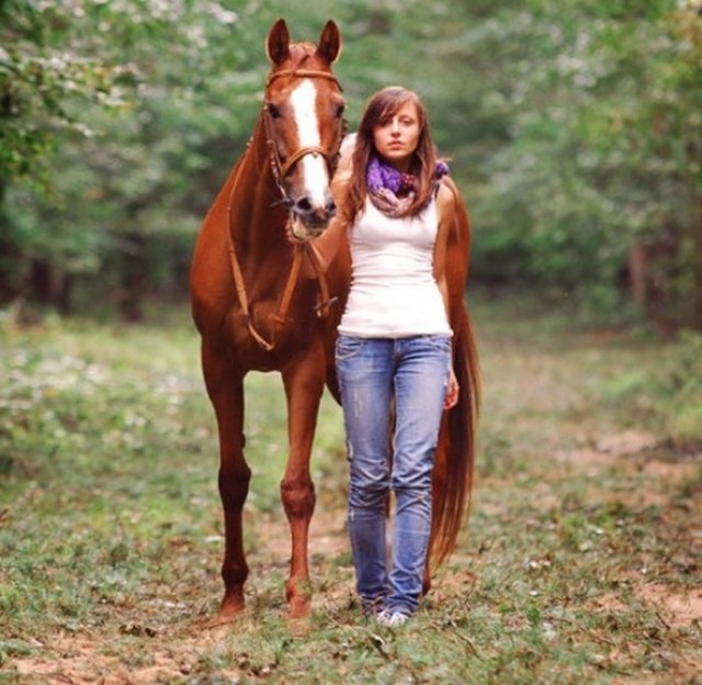Beautiful Photography of Girls and Horses