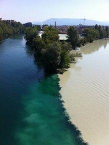When rivers meet