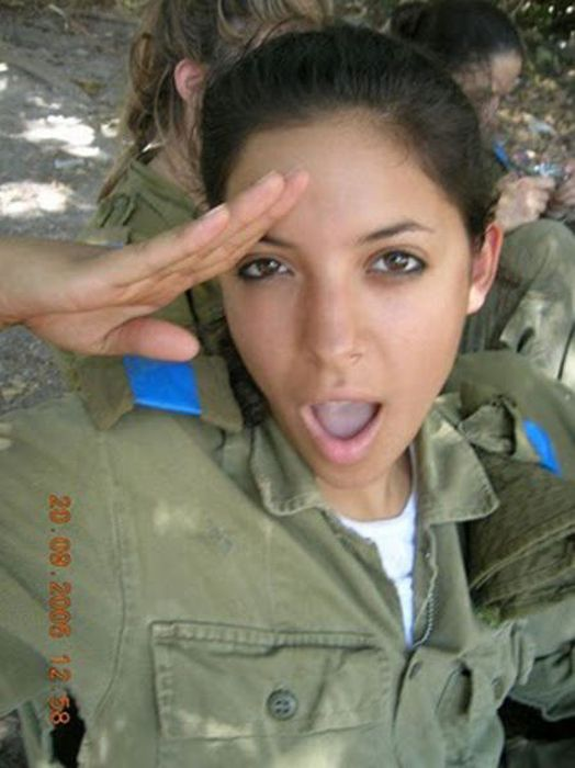 Girls of Israel Army Forces