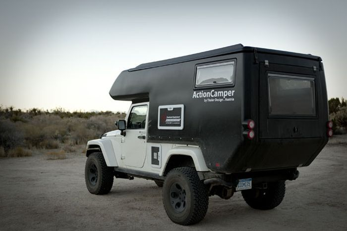 Cool Expedition Camper for Jeep Wrangler
