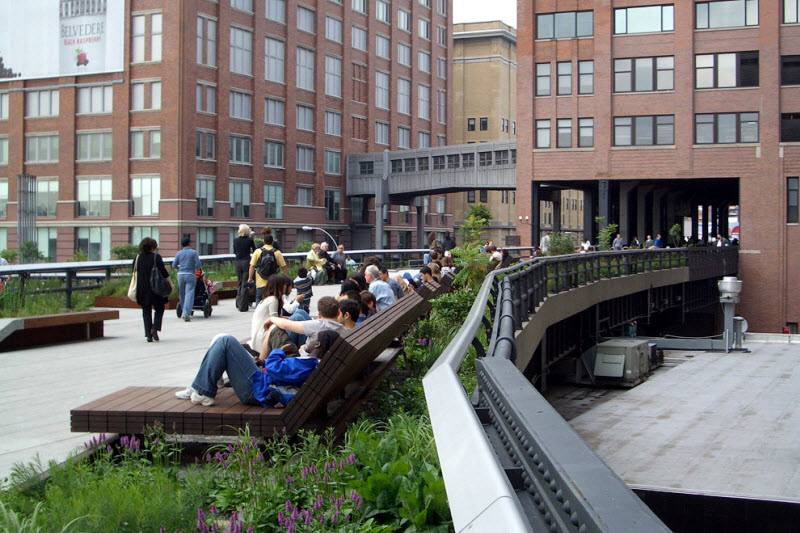 High Line Park in New York