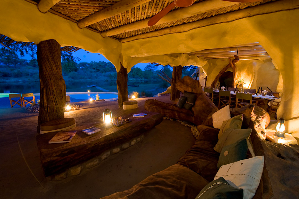 Chongwe River - house in the African National Park