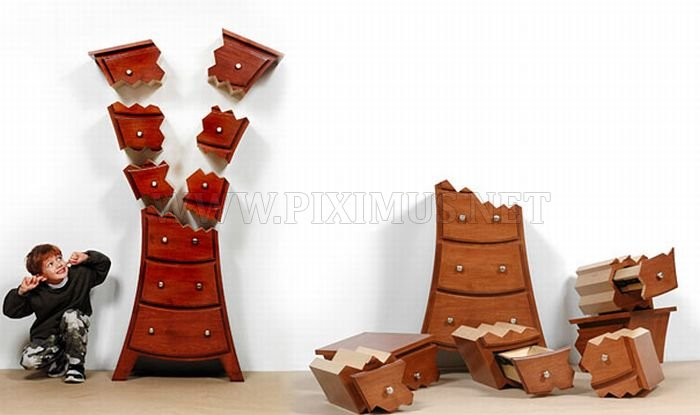 Funny Furniture By Straight Line Designs