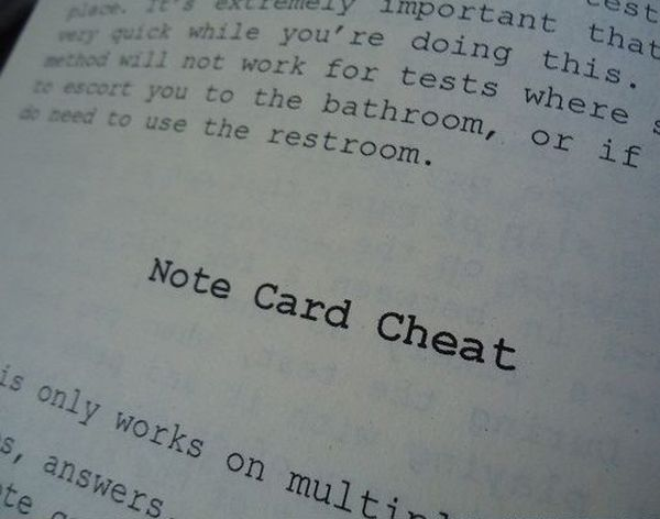 Cheater's Digest