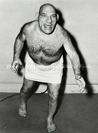 Maurice Tillet, the Real World Shrek