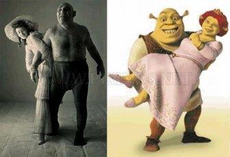 Maurice Tillet, the Real World Shrek