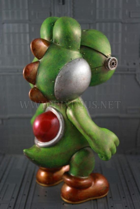 Awesome mecha yoshi art toy