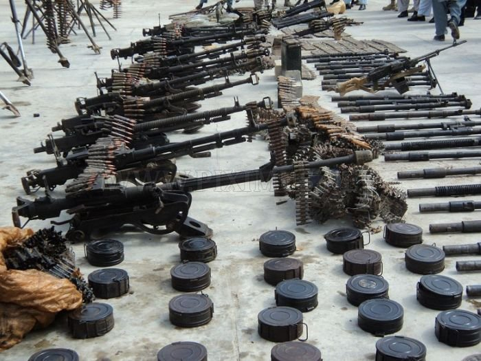 Weapons Confiscated from Taliban
