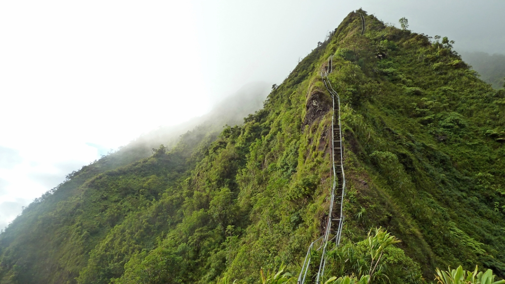 Haiku Stairs in Hawaii