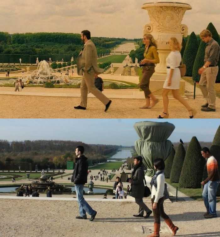 Making Photos at the Shooting Locations of the Movies