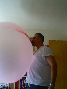 It's the Biggest Gum Bubble I've Ever Seen