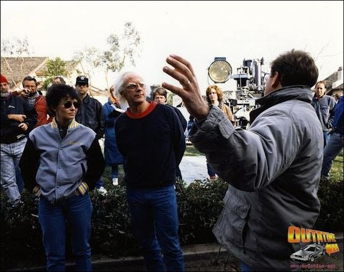 Back To The Future. Behind The Scenes