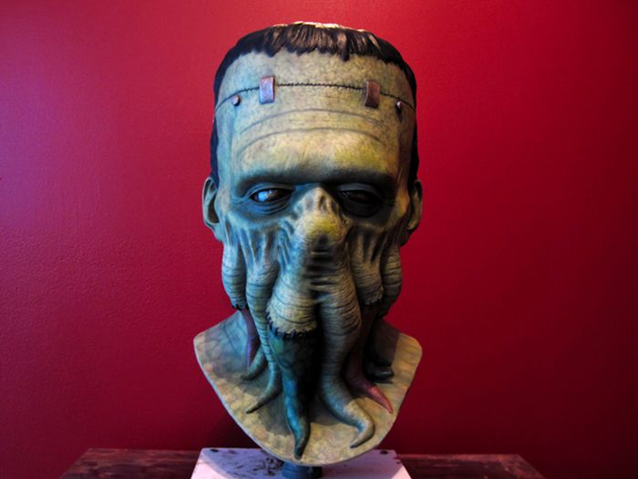 Frankenthulhu Latex Mask