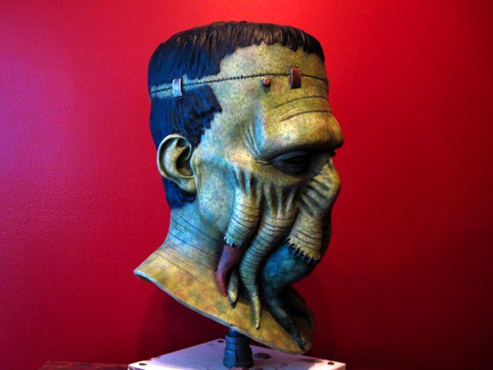 Frankenthulhu Latex Mask