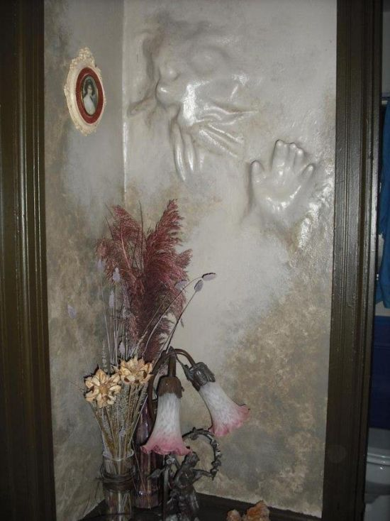 Wall Decorations of a Horror Movie Fan