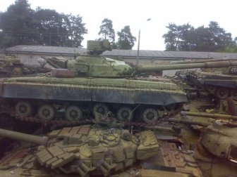 Panzer Cemetery in Kiev, Ukraine