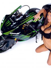 Hot chicks on motorcycles