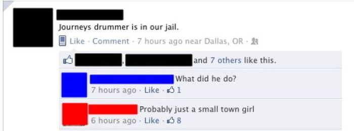 Funny Facebook Coomments