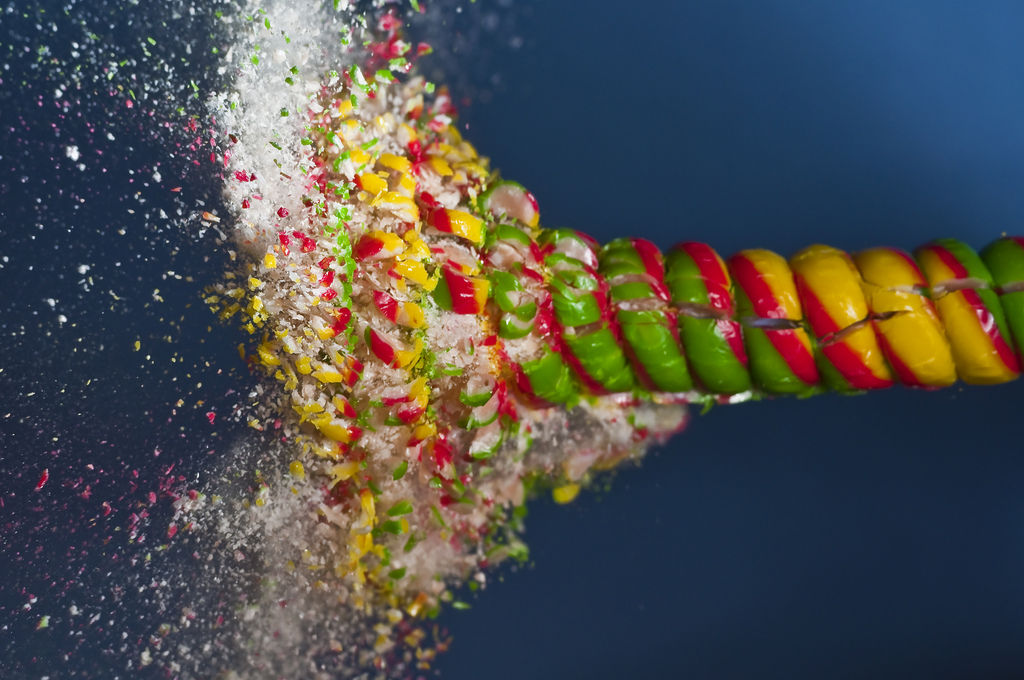 High-Speed Photos of Things Bursting Apart