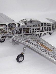 P-51 Mustang detailed model