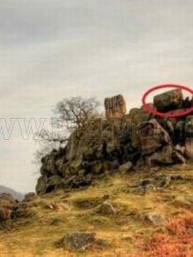 When a Giant Rock Rolls Down