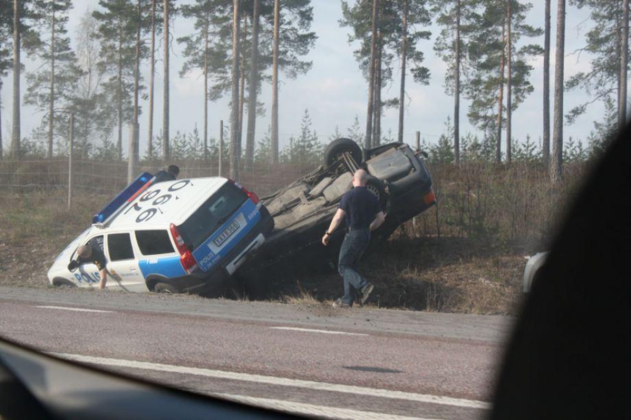 Swedish Police Chase
