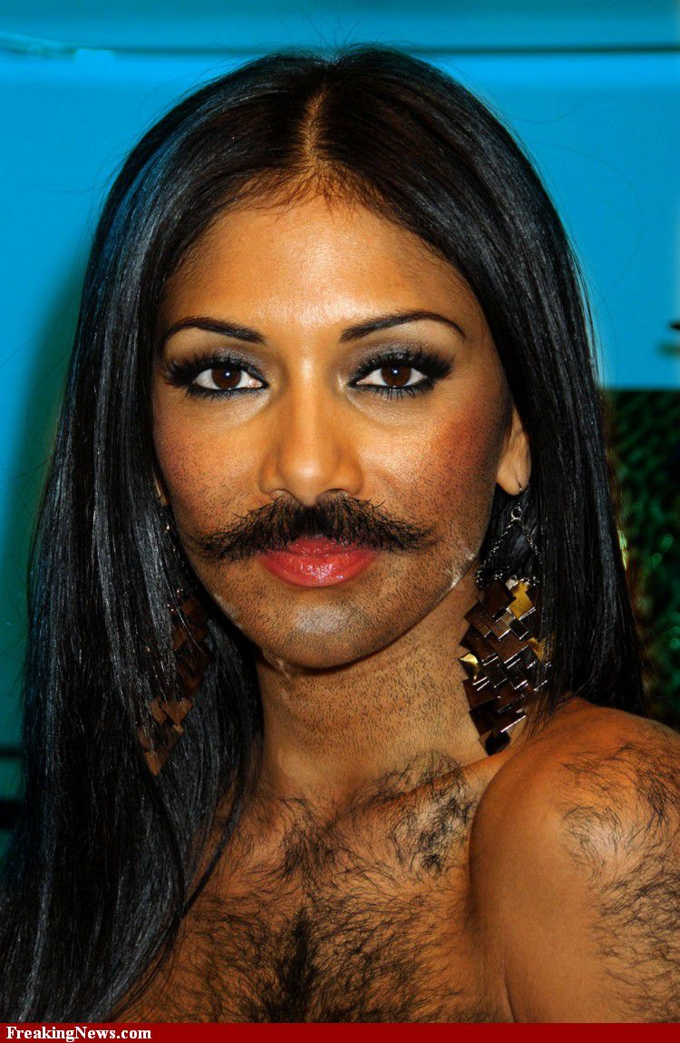 Famous Women Sprout Beards