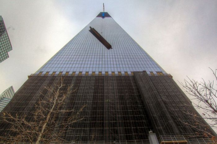 Construction of One World Trade Center