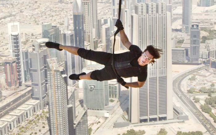 Mission Impossible Stunts by Tom Cruise