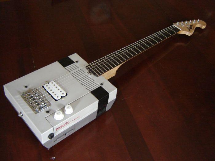 Nintendo Entertainment System Guitar