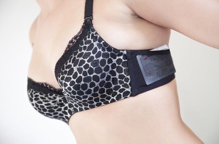 A Bra You Can Keep Everything In