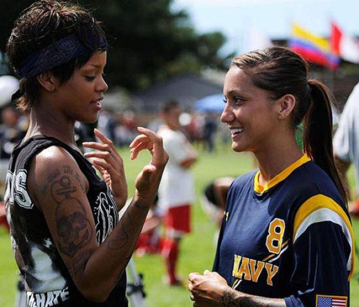 Jackie Carrizosa, Rihanna's Battleship Mentor