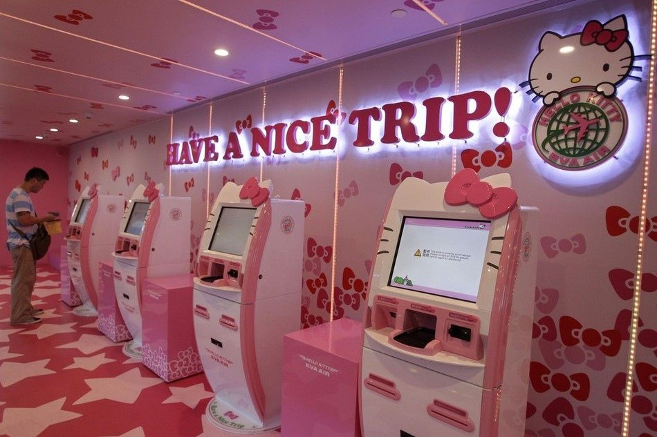 Hello Kitty Aircrafts Launched in Asia