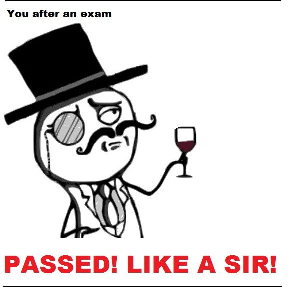 It Happens to All Students After Exams