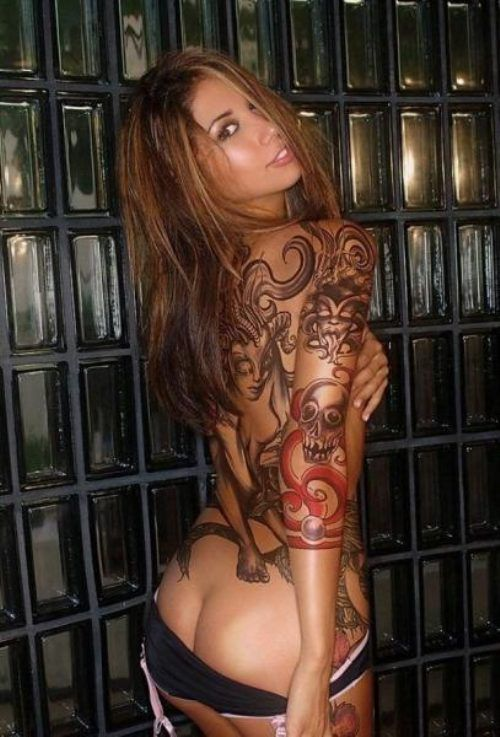 Tattooed Hotties