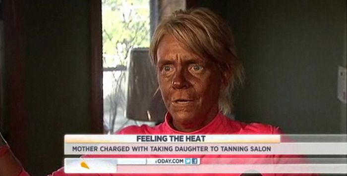 Mother Took 5-Year-Old Daughter to Tanning Salon