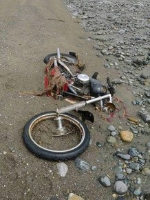 Harley Davidson Swept Away by Japan Tsunami Found in Canada