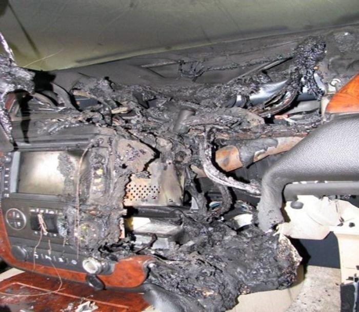 Car Battery Explosion