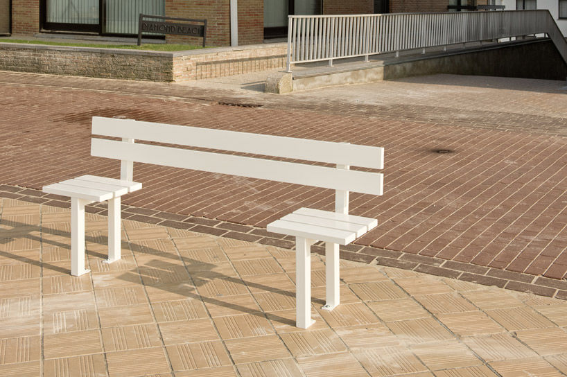 Crazy Benches Installed in Belgium