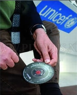 The UNICEF Landmine Stickers