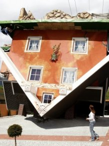 The new attraction Tyrol - the house upside down