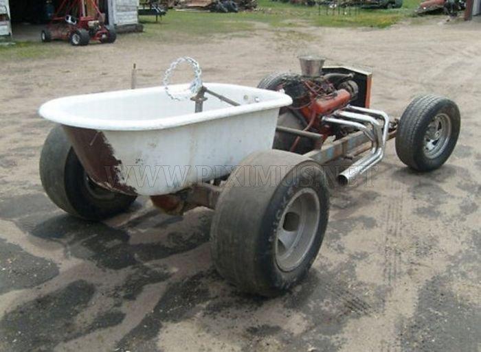 Bathtub Car