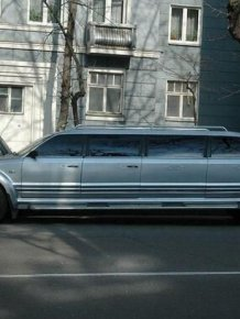 Unusual limousine from Ukraine