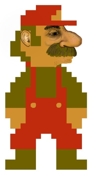 This is What Mario Really Looks Like