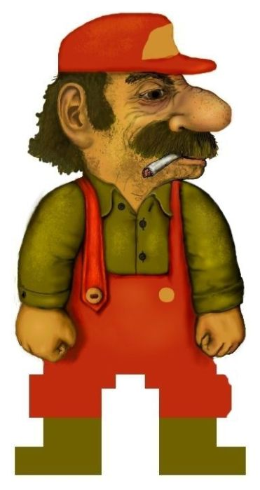 This Is What Mario Really Looks Like Fun